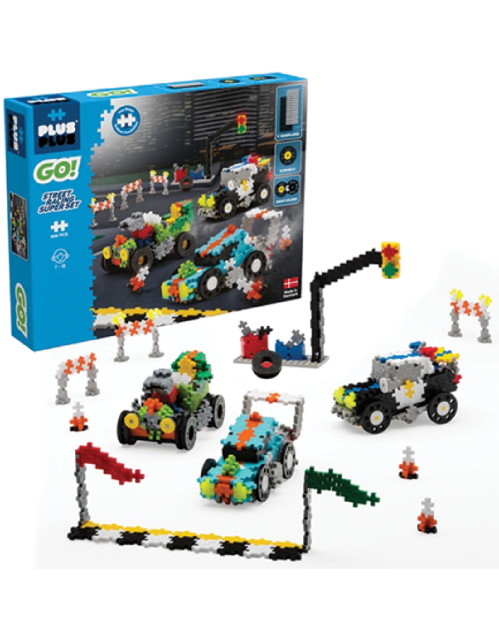 Plus-Plus Plus Plus GO! Street Racing Super Set