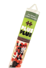 Plus-Plus Plus Plus Tiger Tube - 70 pieces