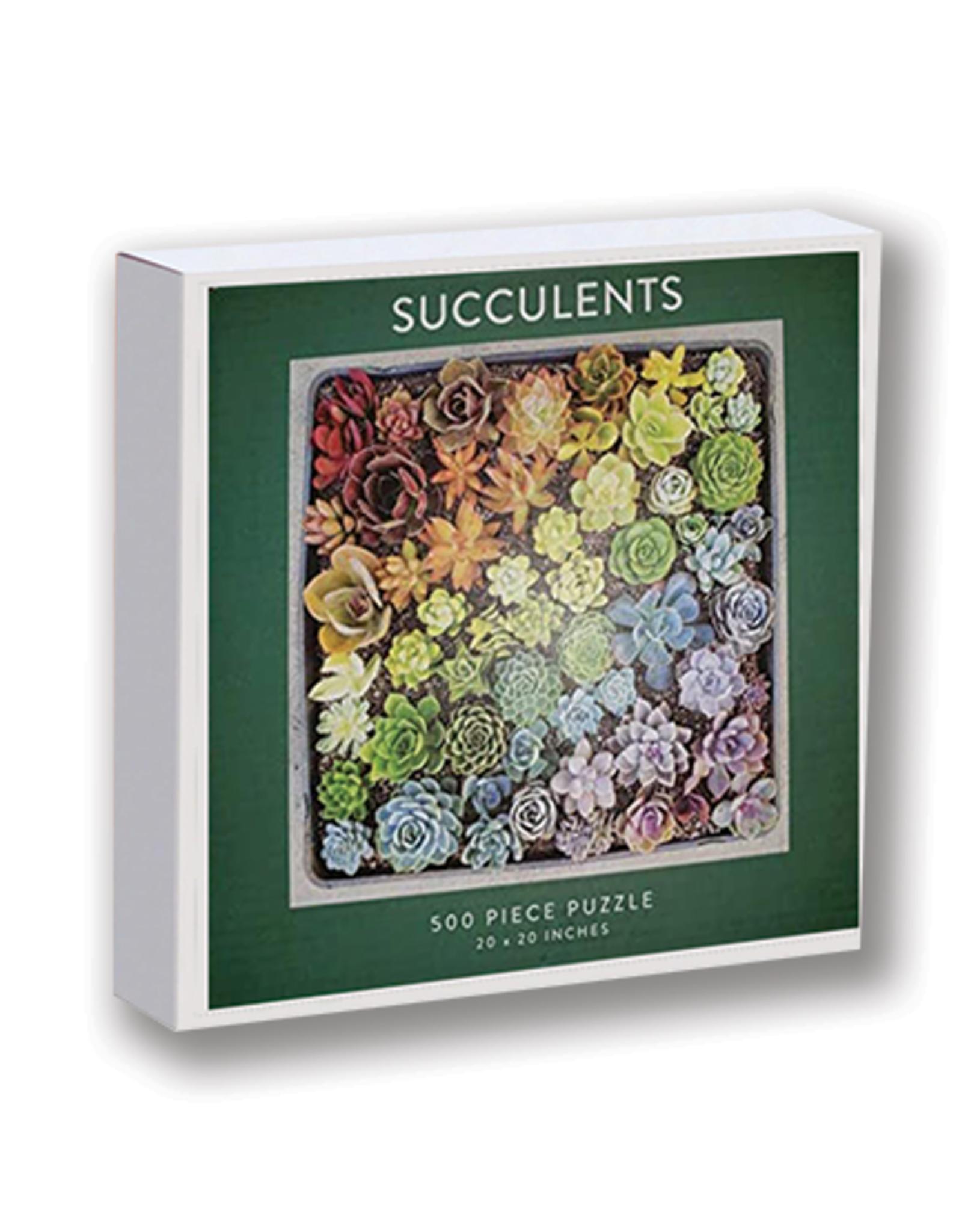 Succulents 500-Piece Puzzle