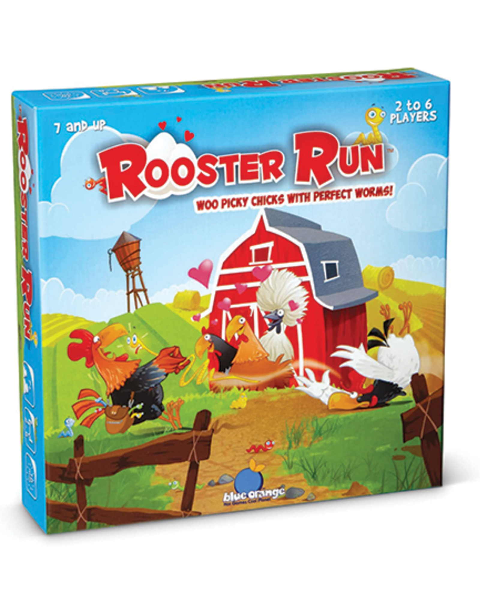 Blue Orange Rooster Run Game