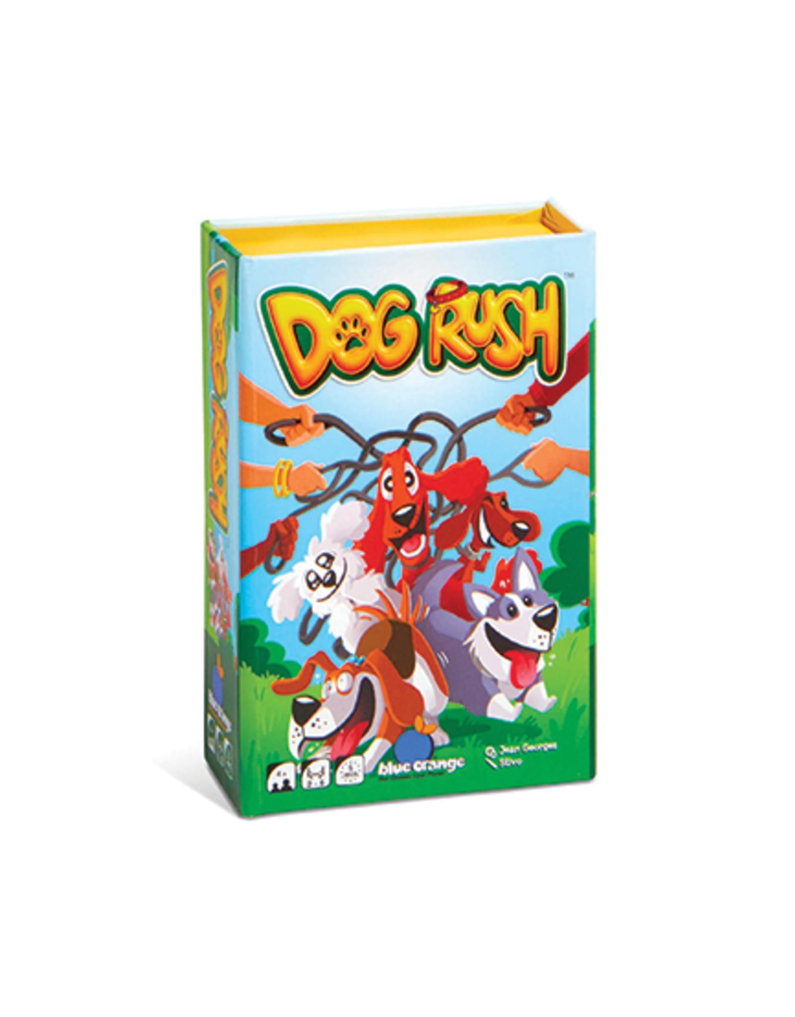 Blue Orange Dog Rush Mini Game