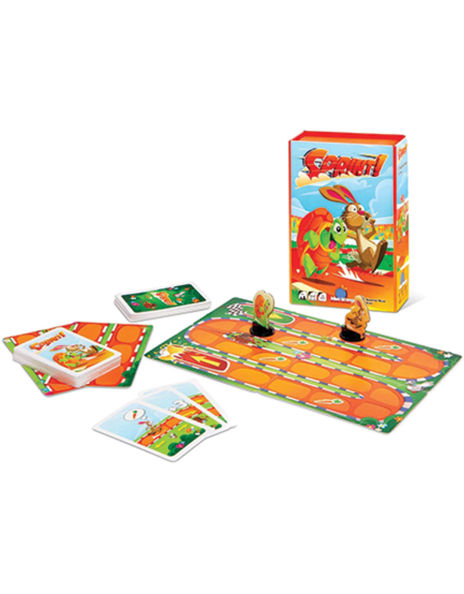 Blue Orange Sprint! Mini Game