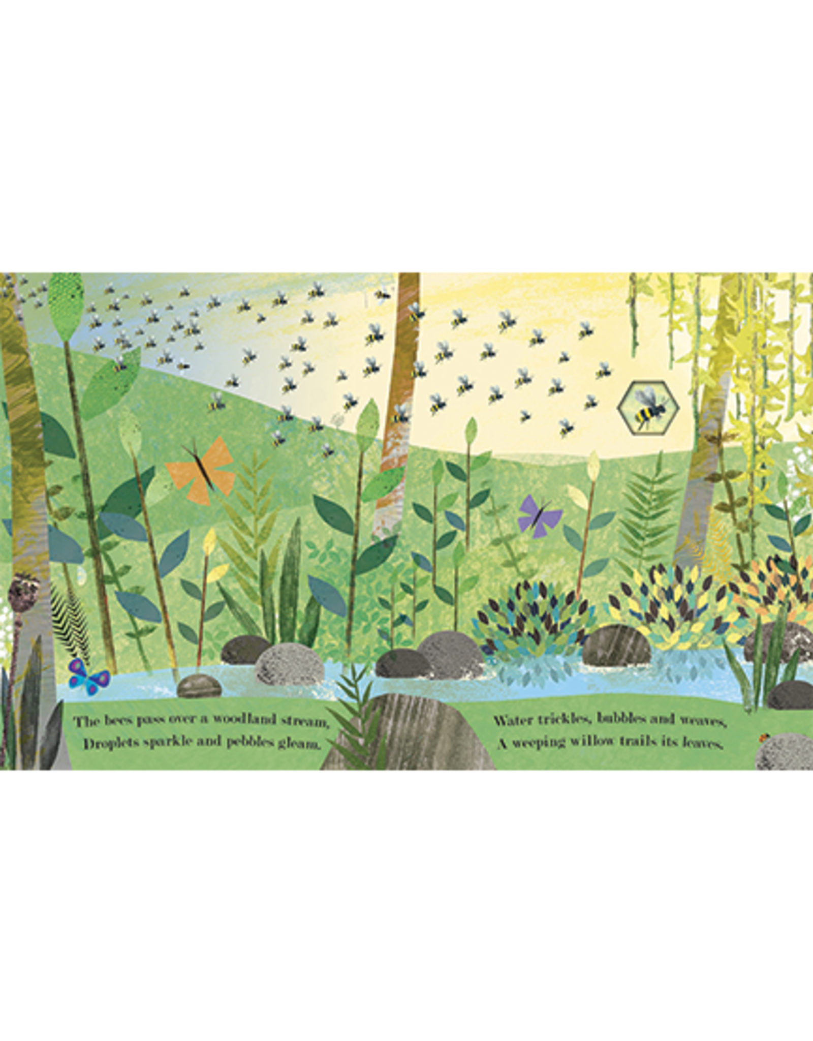 Bee: A Peek-Through Picture Book
