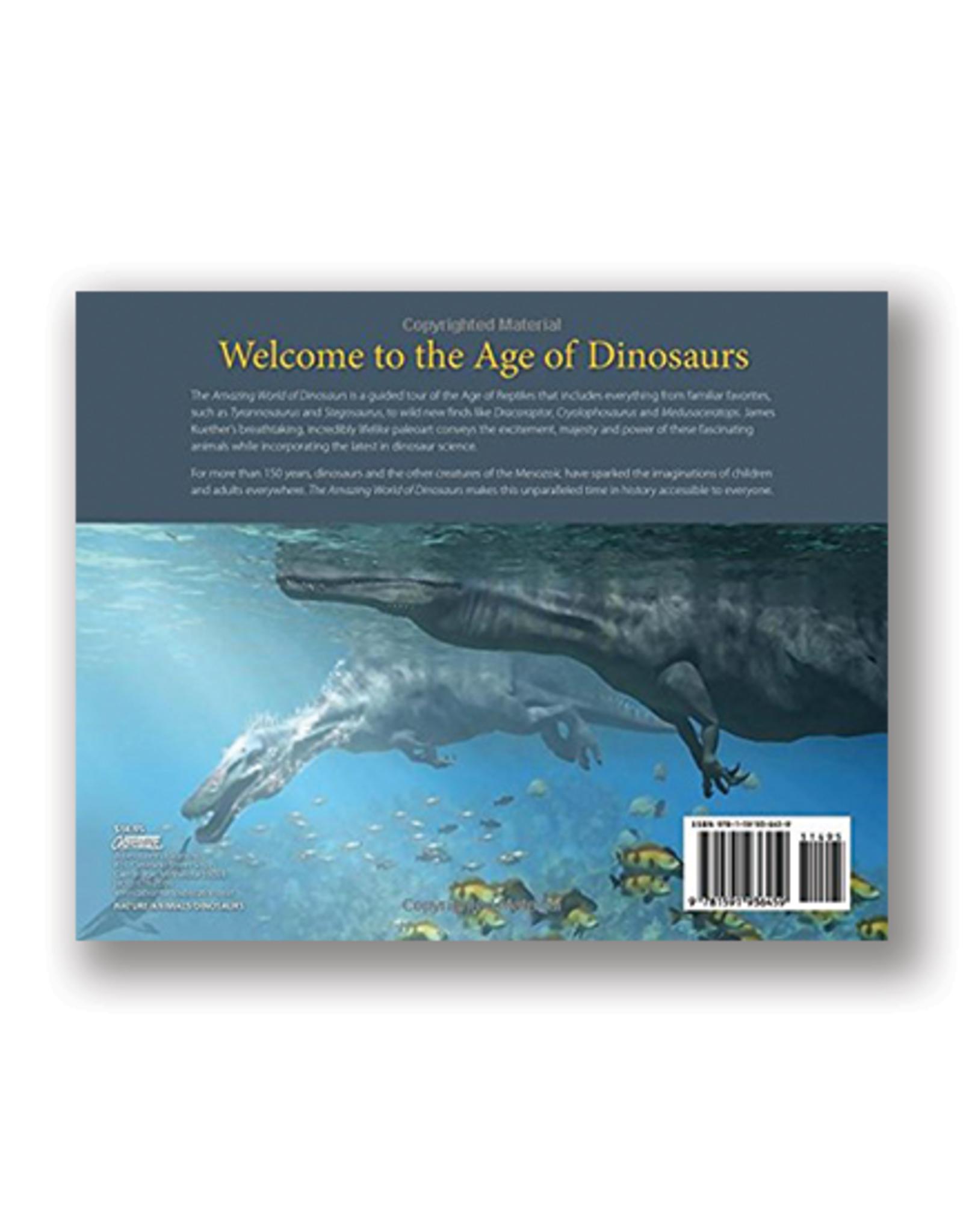 The Amazing World of Dinosaurs: An Illustrated Journey Through the Mesozoic Era