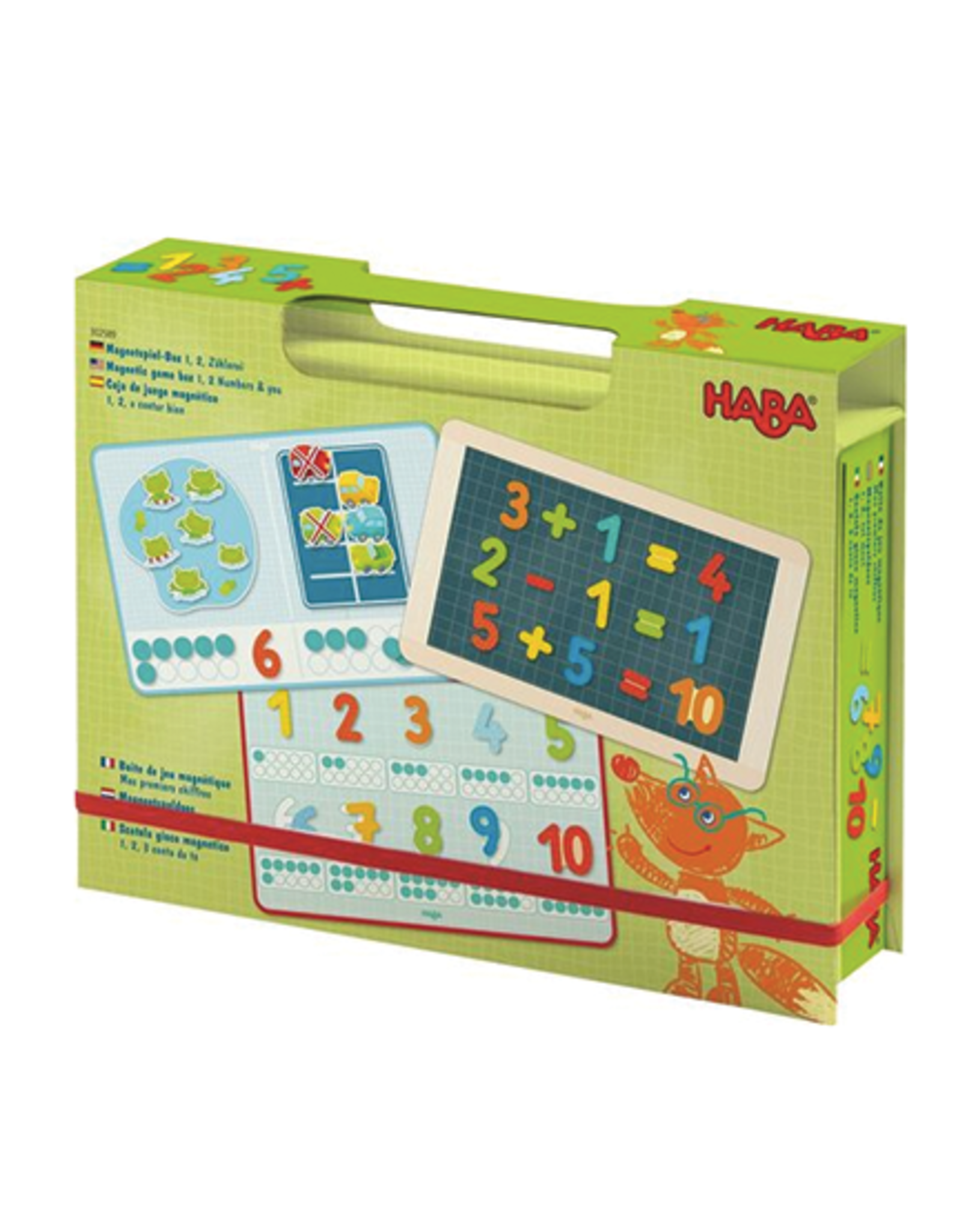 Haba Magnetic Game Box:  1, 2 Numbers & You