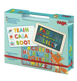 Haba Magnetic Game Box:   ABC Expedition