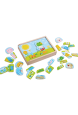 Haba Merry Animal Mix & Match Wooden Puzzle