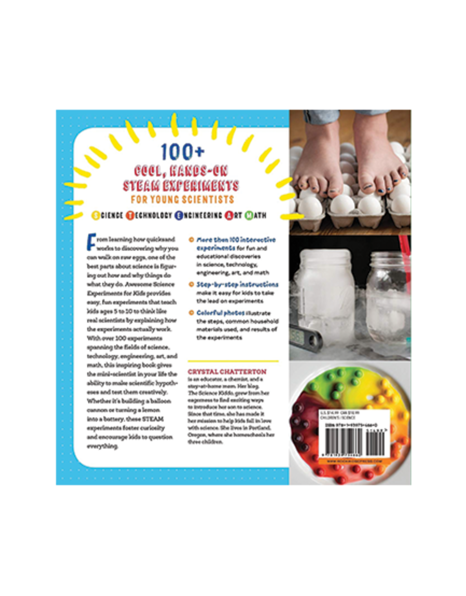 Awesome Science Experiments for Kids: 100+ Fun STEM Projects