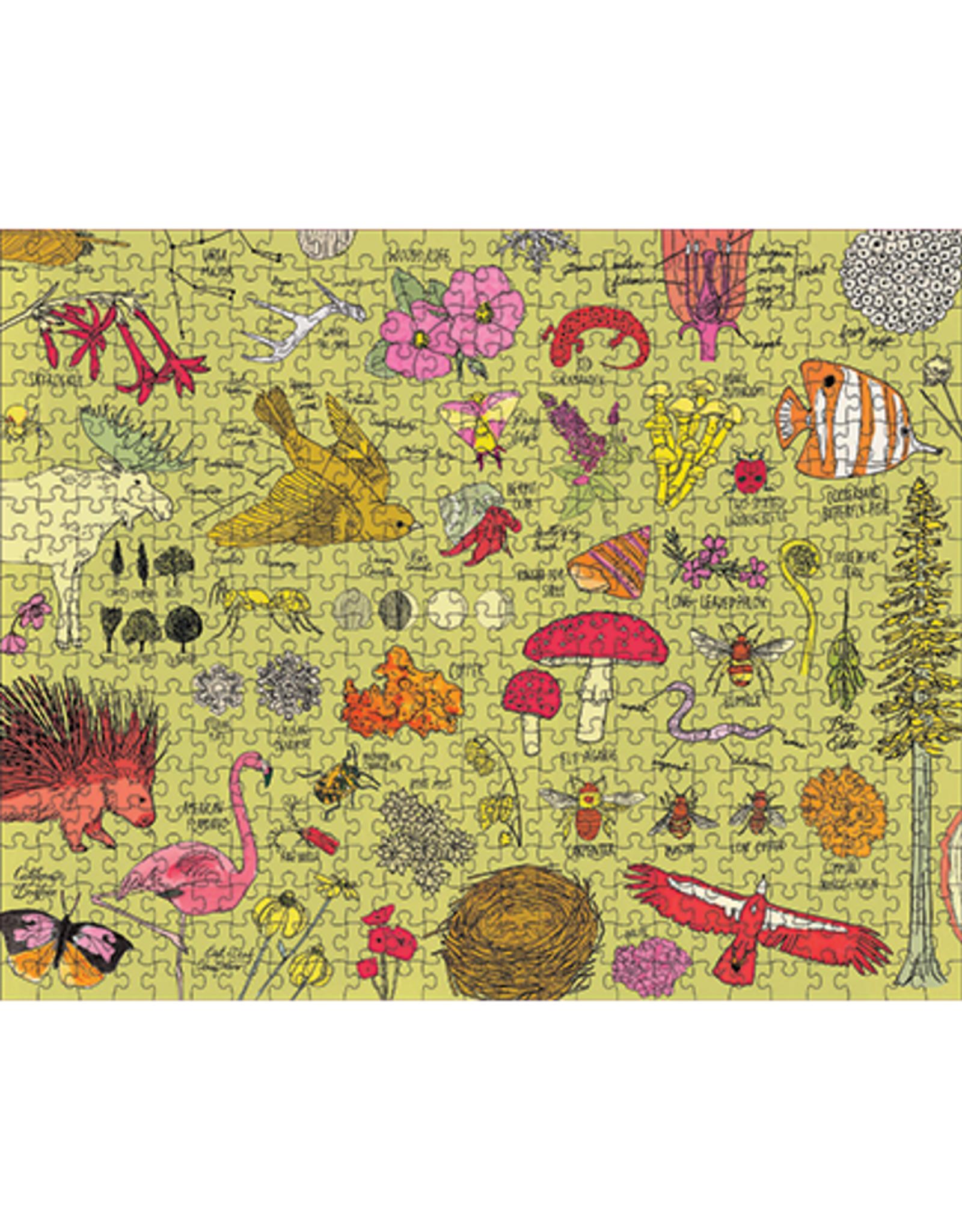 Nature Anatomy: 500 Piece Puzzle
