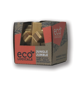 Project Genius Ecologicals Mini Bamboo Puzzle Jungle Jumble
