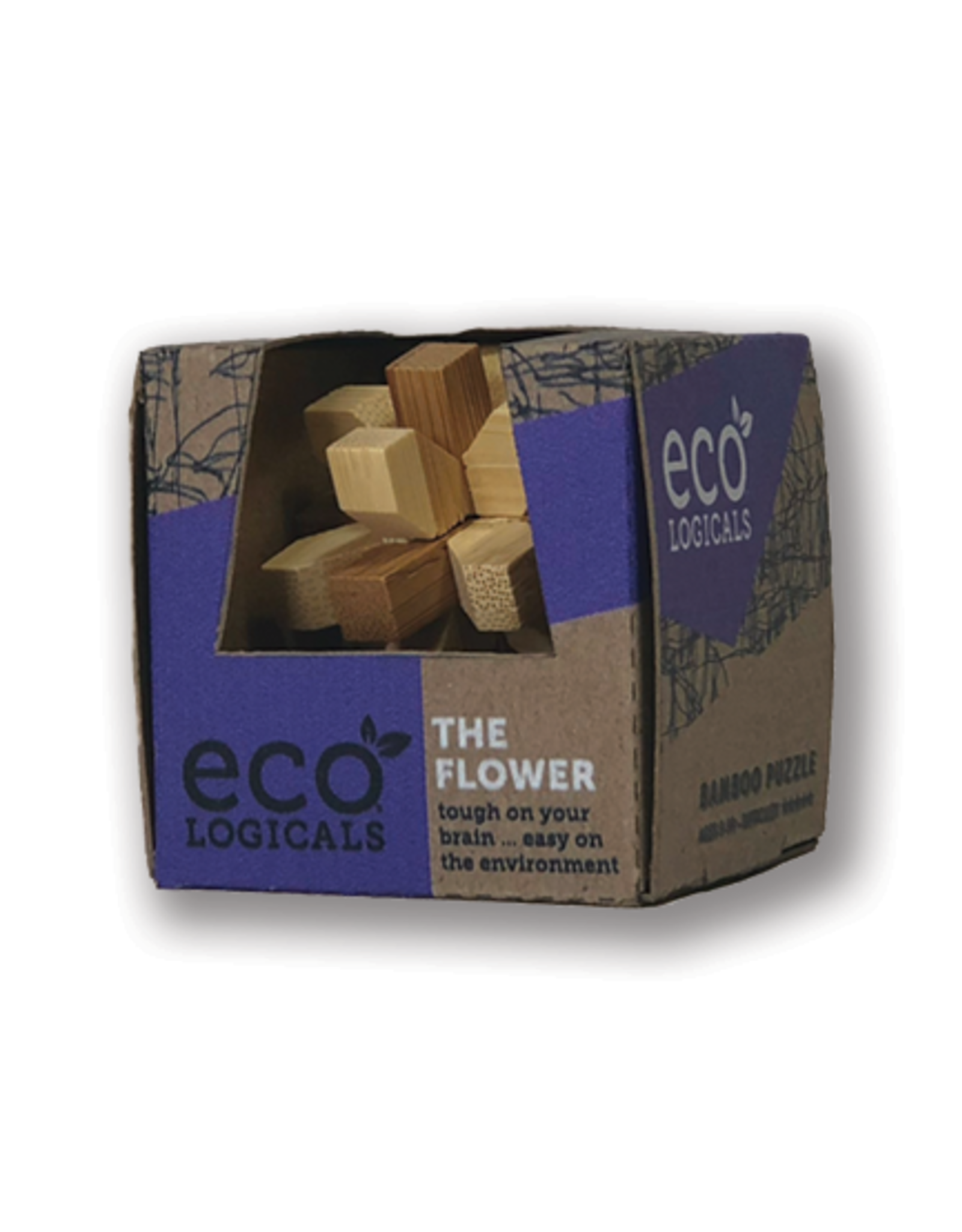 Project Genius Ecologicals Mini Bamboo Puzzle The Flower