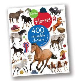 Workman Publishing Eyelike Reusable Stickers: Horses