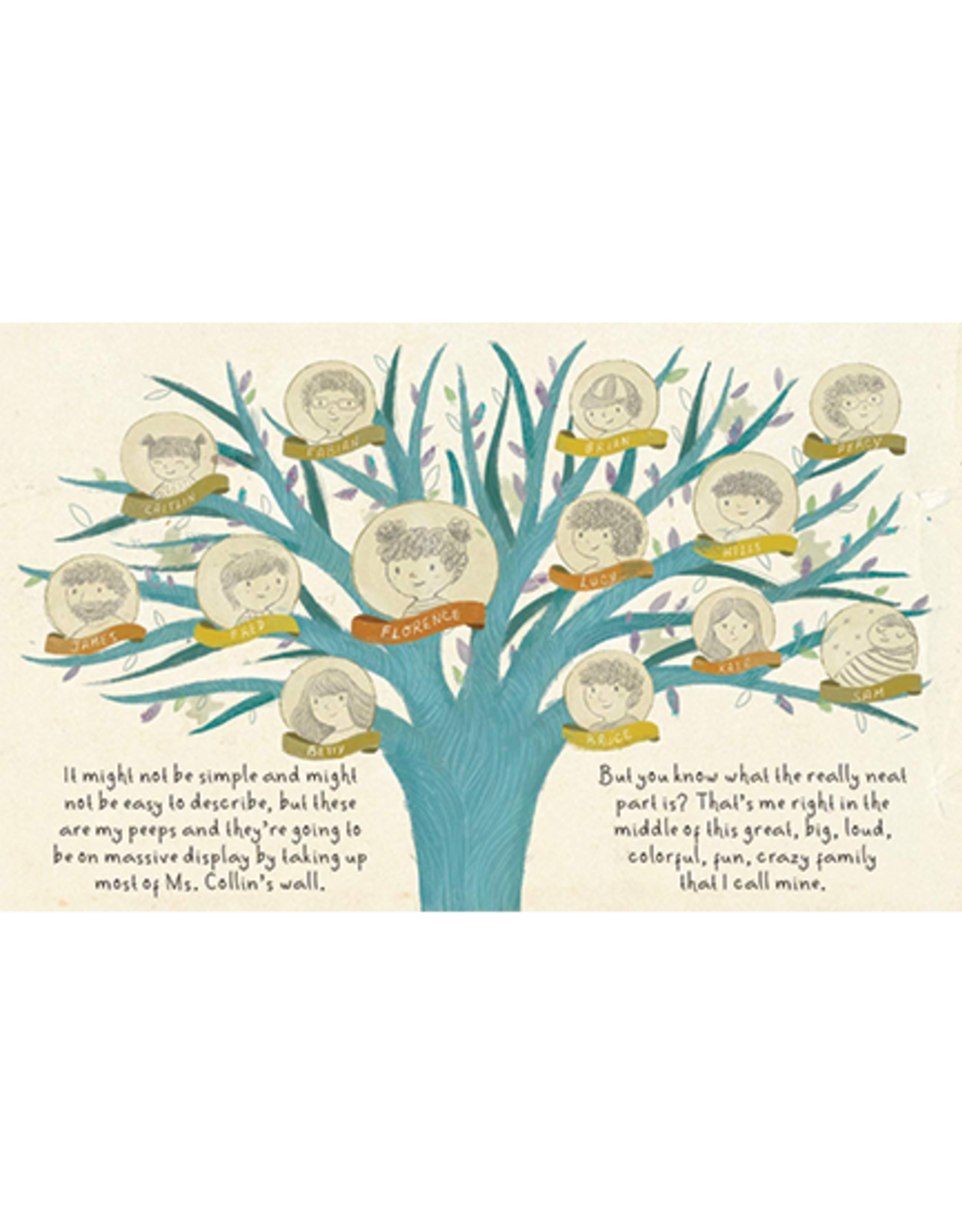 Workman Publishing Florence and Her Fantastic Family Tree