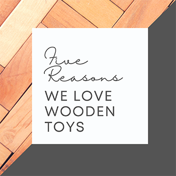 5 Reasons We Love Wooden Toys