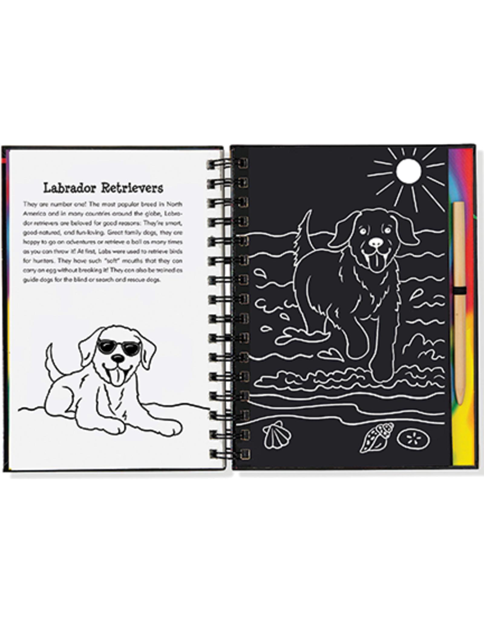 Puppies Scratch & Sketch Art Activity Book