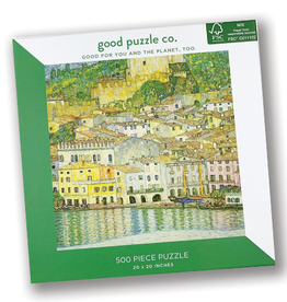 Lake Garda by Klimt 500 Piece Puzzle