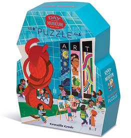 A Day at the Art Museum 48 Piece Puzzle