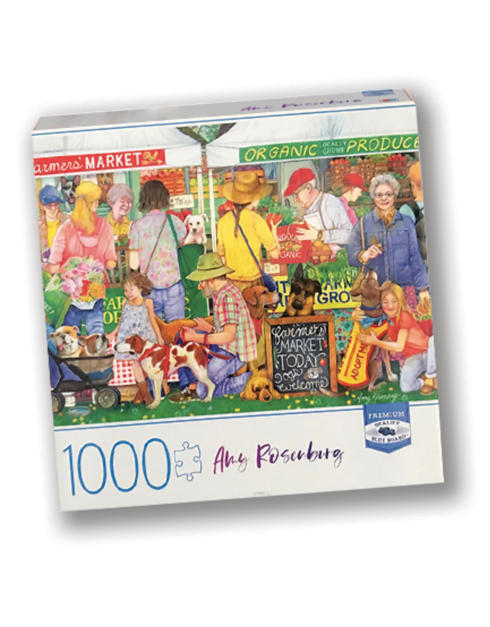 Farmers Market Pup 1000 Piece Puzzle
