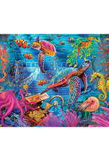 Colorful Ocean Marine Color 1000 Piece Puzzle