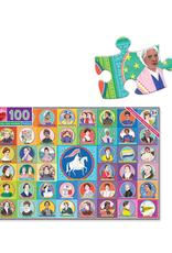 eeBoo Votes for Women 100 Piece Puzzle