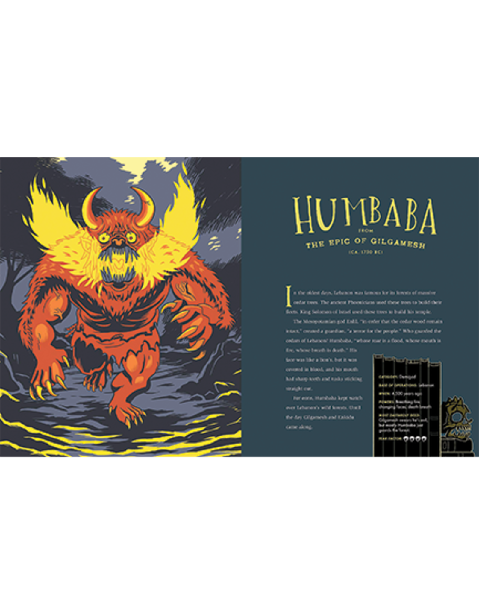 Workman Publishing The Big Book of Monsters:  Creepiest Creatures from Classic Literature