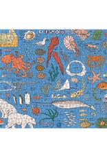 Workman Publishing Ocean Anatomy 500 Piece Puzzle