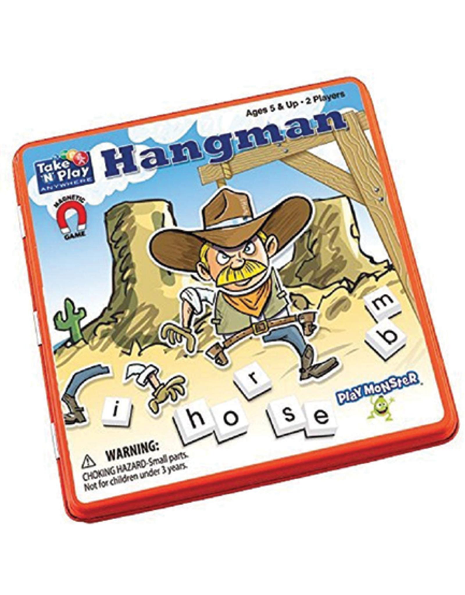 Magnetic Hangman Game, Travel Tin