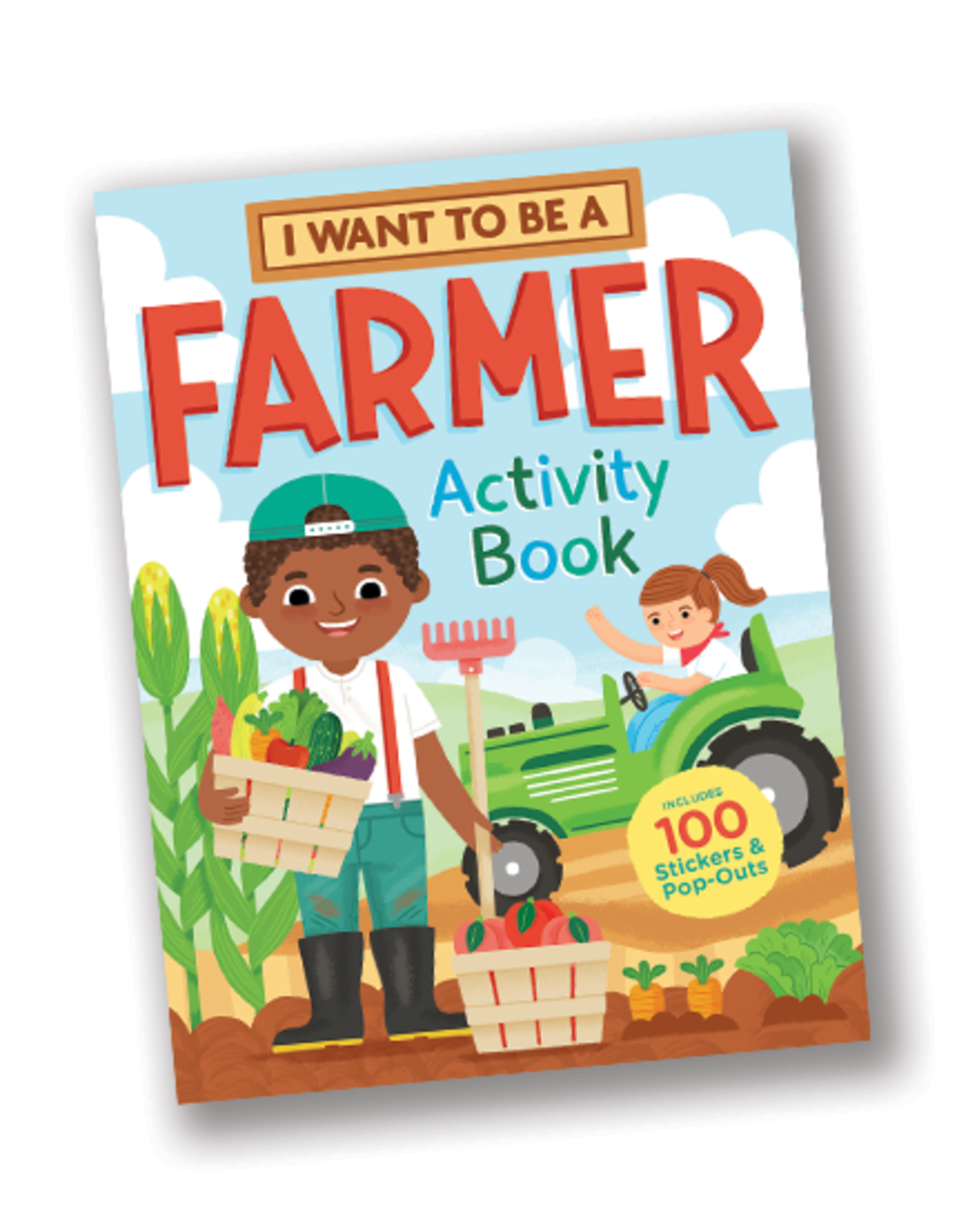 Workman Publishing I Want to Be a Farmer Activity Book