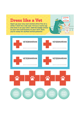 Workman Publishing I Want to Be a Vet Activity Book
