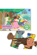 eeBoo Princess Adventure 20 Piece Puzzle
