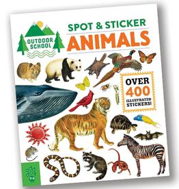 Outdoor School:  Spot & Sticker Animals