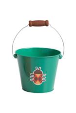 Toysmith Green Beetle Mini Metal Bucket
