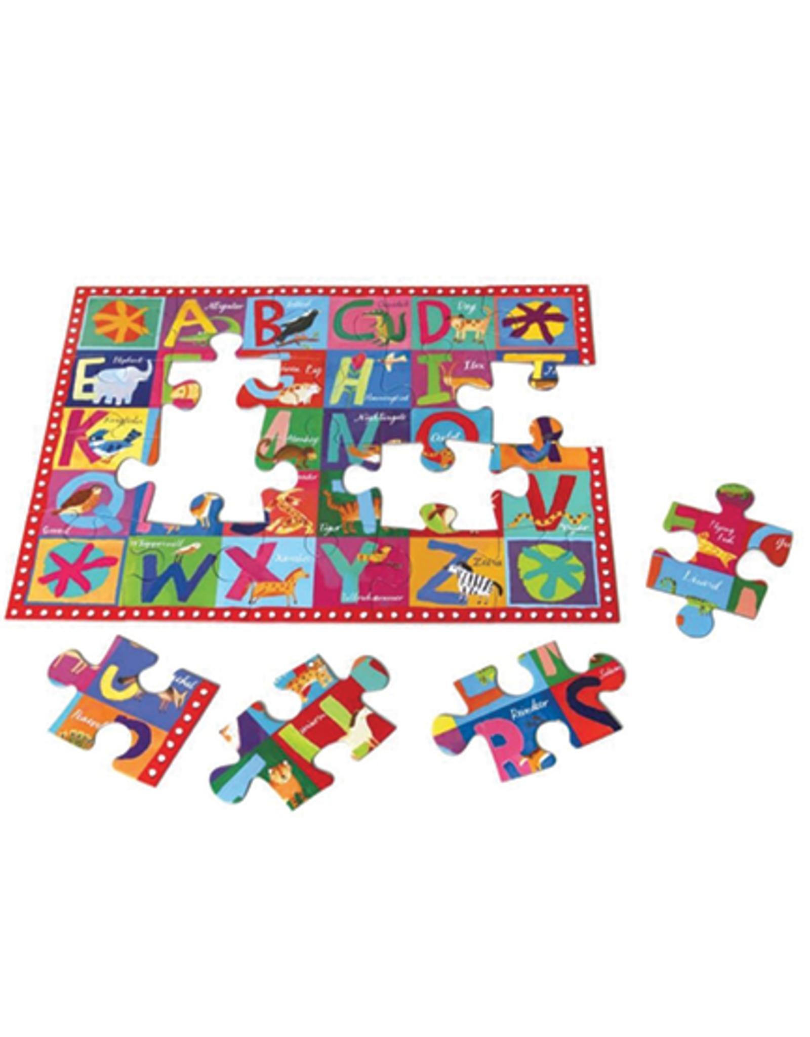 eeBoo Animal ABC 20 Piece Puzzle