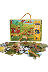 Little Likes Kids Camping Outdoors 48 Piece Puzzle by Little Likes Kids