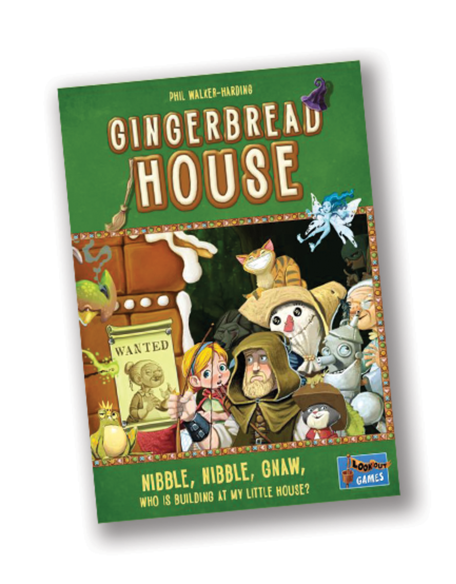 Lookout Games Gingerbread House Game