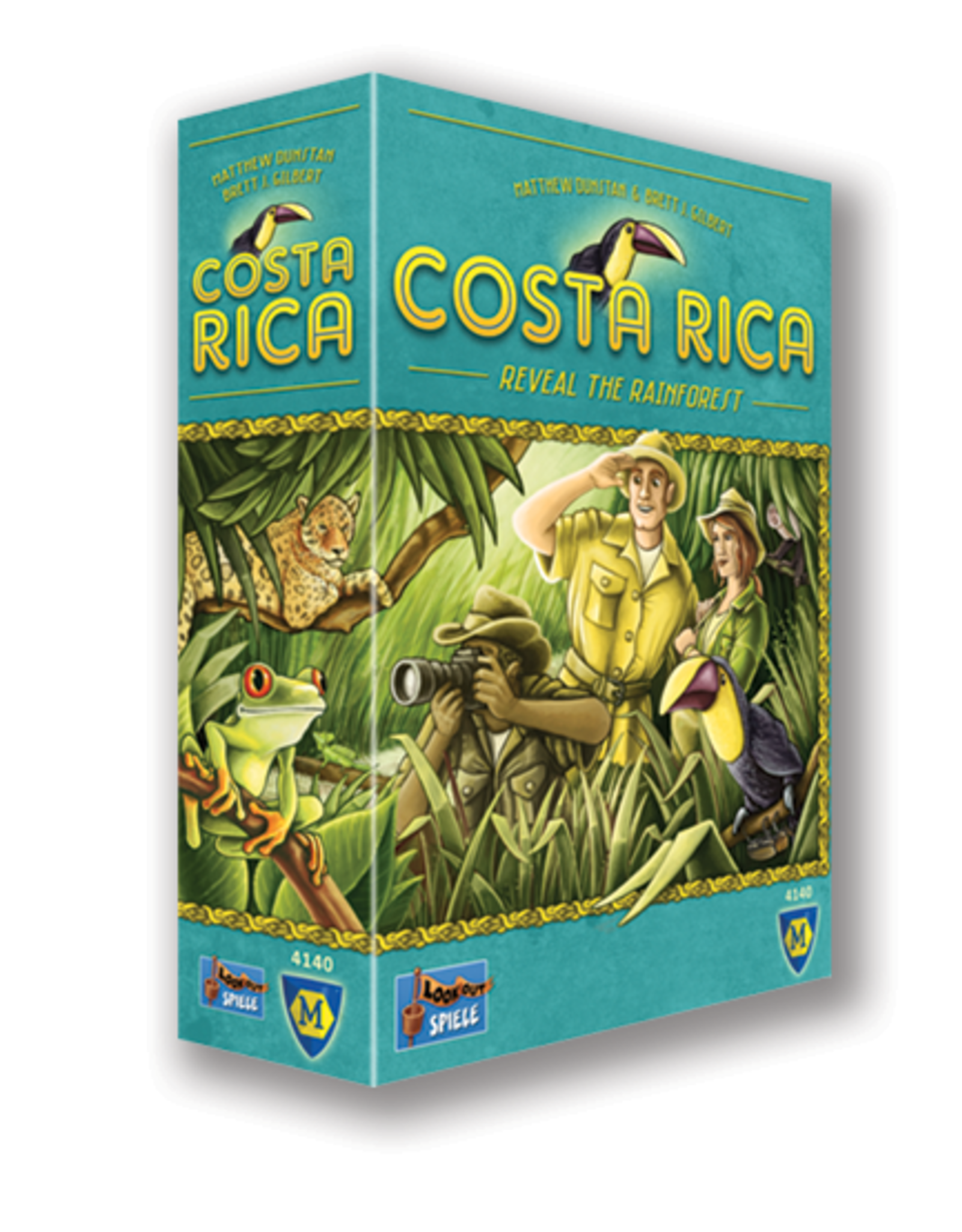 Lookout Games Costa Rica Board Game