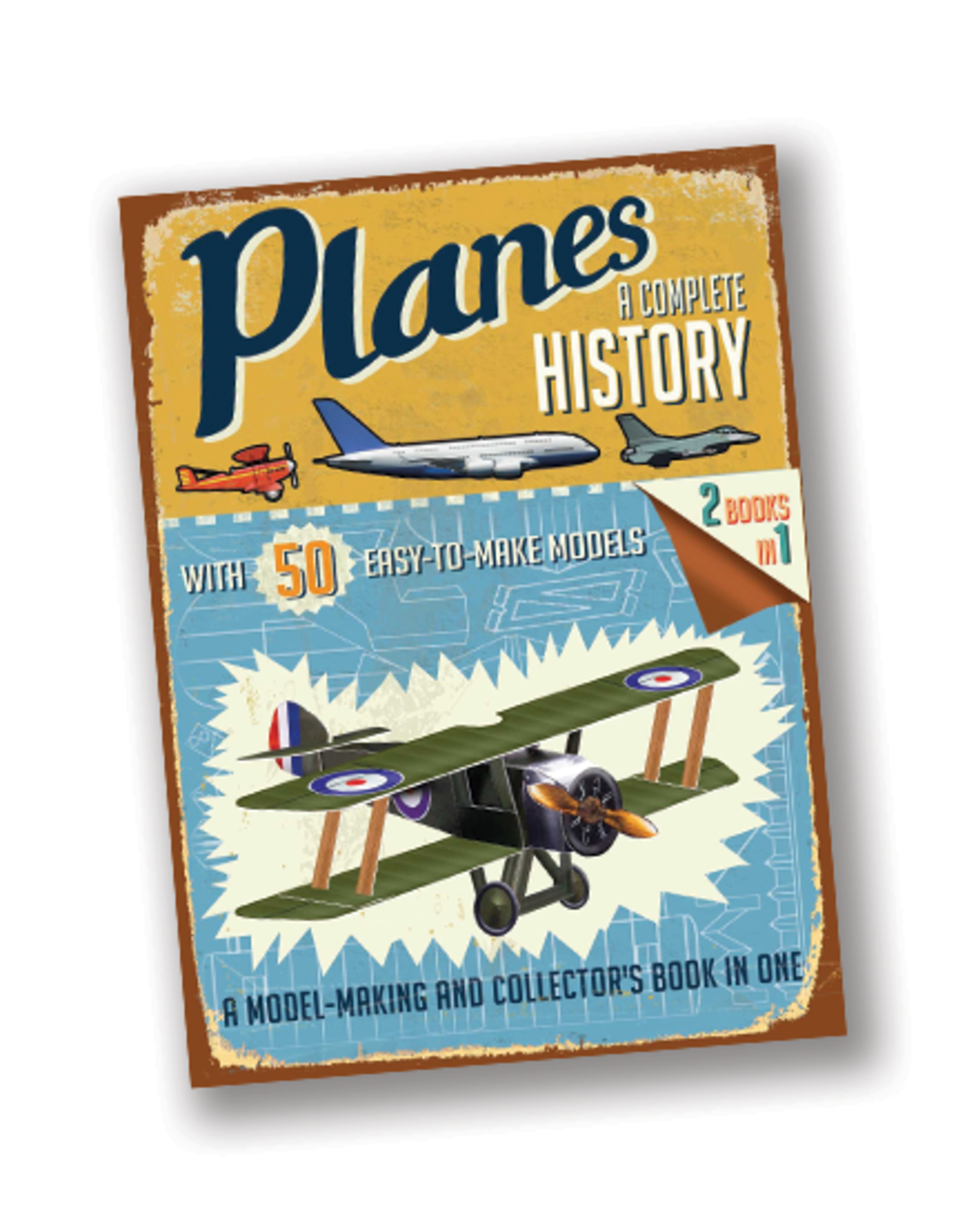 Planes: A Complete History (Easy-to-Make Models)