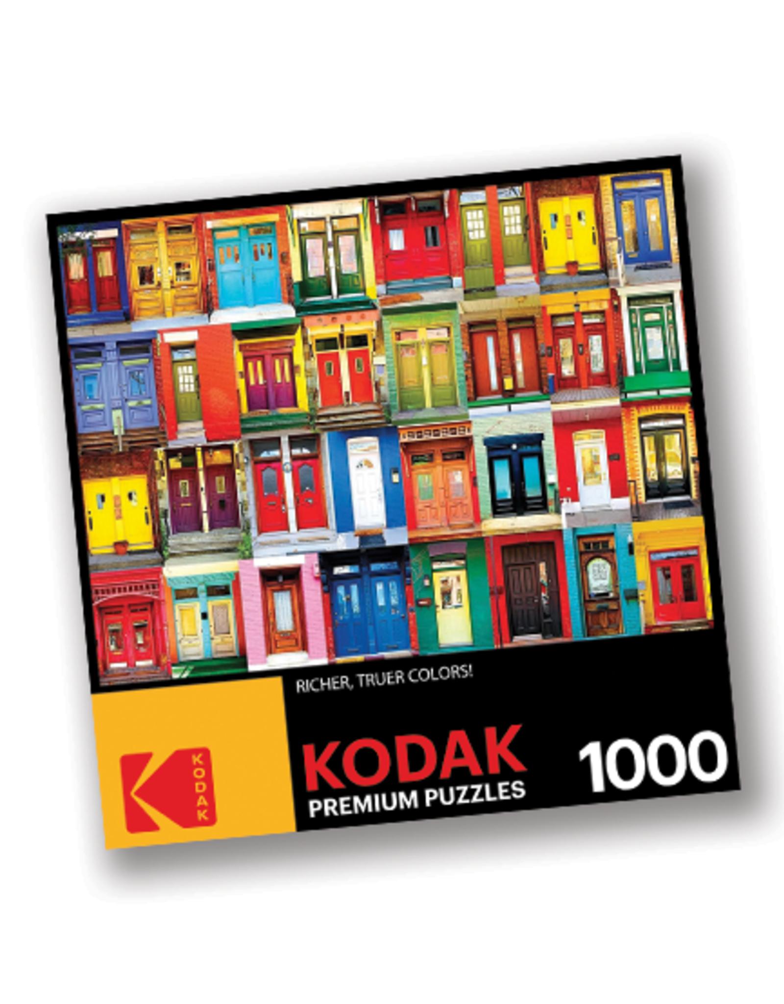 KODAK Premium 1000 Piece Puzzle:  Colorful Doors