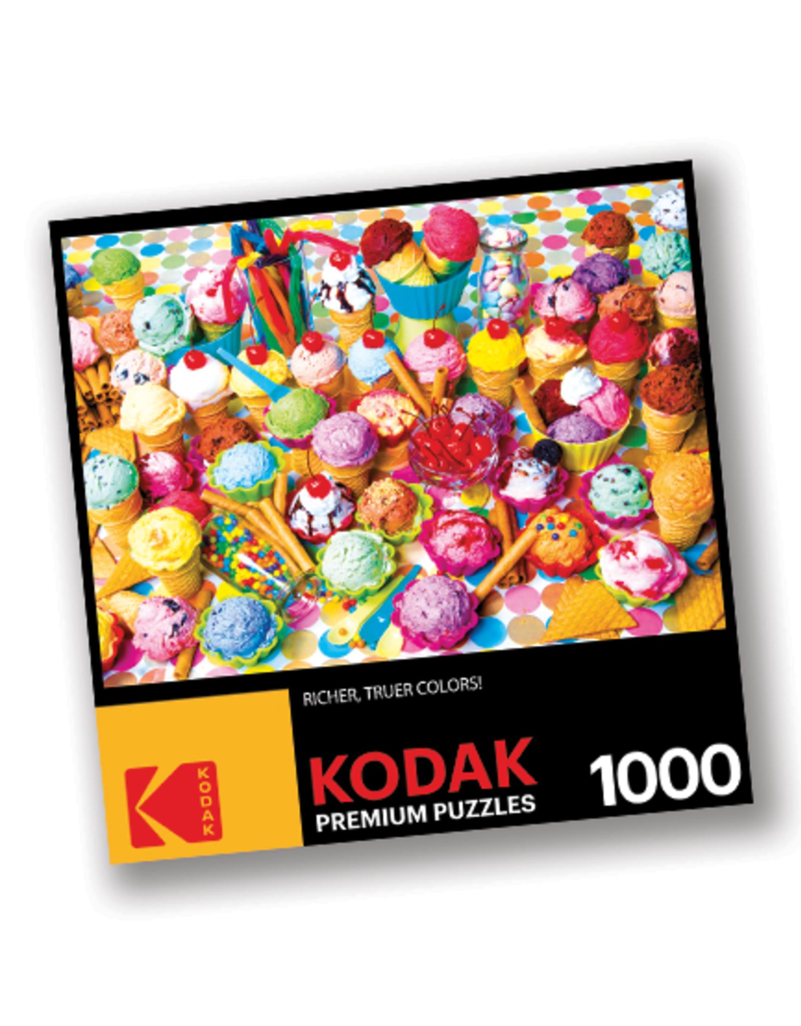 KODAK Premium 1000 Piece Puzzle:  Ice Cream Shoppe