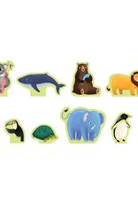Mudpuppy Animals of the World Puzzle Play Set