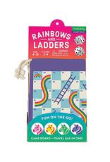 Mudpuppy Rainbows & Ladders Travel Game