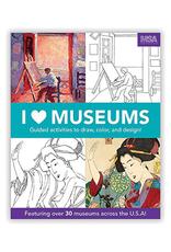 Mudpuppy I Heart Museums, Art Activity Book