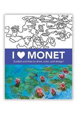 Mudpuppy I Heart Monet, Art Activity Book