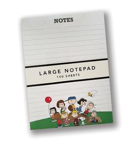 Peanuts Large Jotter Notepad