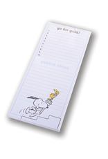 Peanuts Olympics Magnetic Tall Notepad