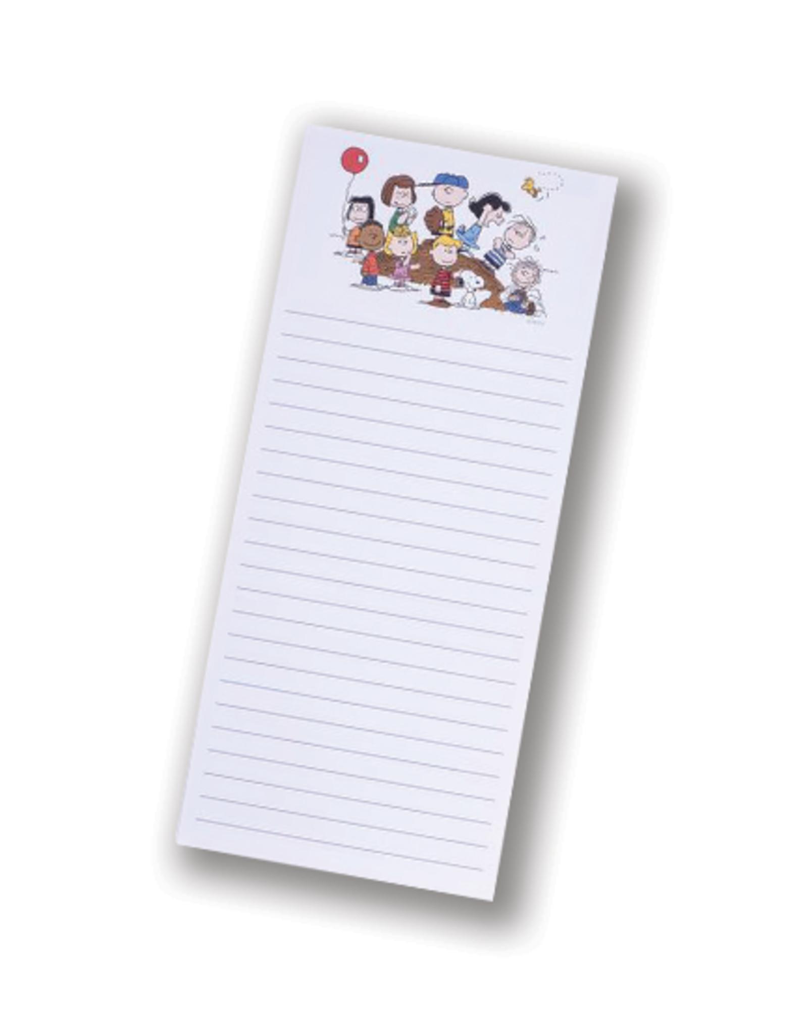 Peanuts Gang Tall Magnetic Notepad