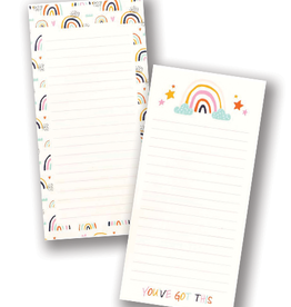 """""""You've Got This"""" Rainbow Notepad (2 pack)"""