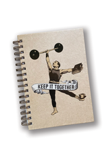 """Keep It Together"" Spiral Notebook"