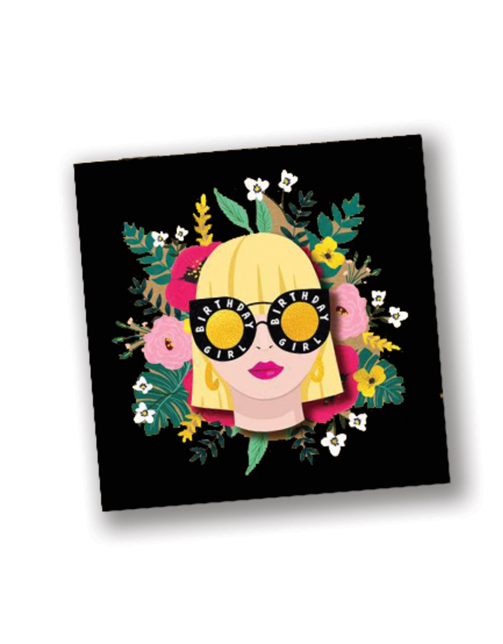 """Happy Birthday"" Sunglasses Card"