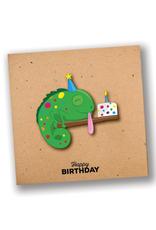 """Happy Birthday"" Sweet Chameleon Card"